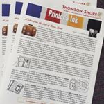 Printer's Ink Is hot off the presses. #thomsonshore #newsletters