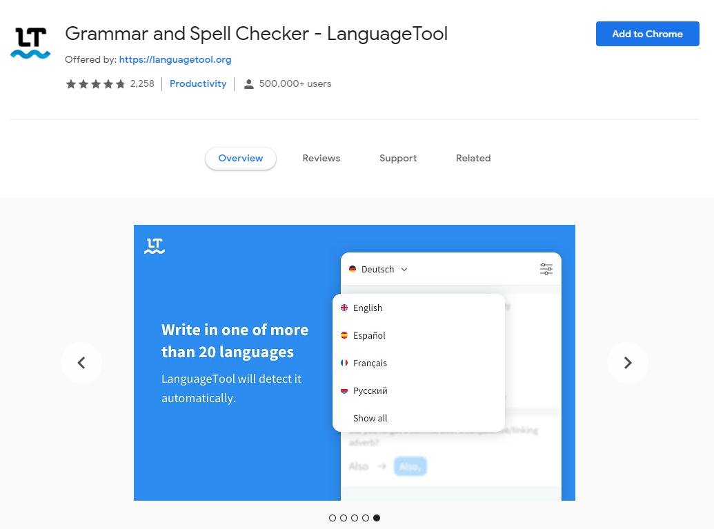 Language Tool